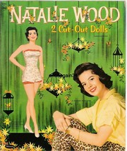 VINTAGE UNCUT 1958 NATALIE WOOD PAPER DOLLS~ORIGINAL SIZE~BEAUTIFUL SET~... - $18.99