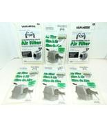 Vanness 6 replacement filters odor-absorbing zeolite brand new ships ver... - $0.99