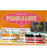 Invicta Lupah Model 19841 Peace & Love Race to Erase MS Heart Face Watch - $70.00