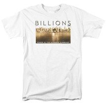 Billions T-shirt Golden City TV show graphic printed cotton white tee SHO580 image 2