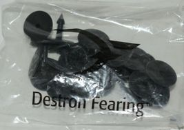 Destron Fearing DuFlex Visual Id Panel Tags Livestock Large Pink 25 Set Blank image 3