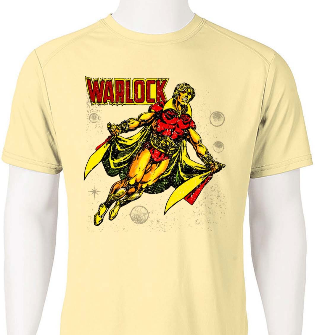 Adam Warlock Dri Fit T-shirt superhero moisture wick athletic graphic tee
