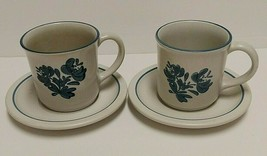 Pfaltzgraff Yorktowne Coffee Cup And Saucer Set Of Two - $16.82