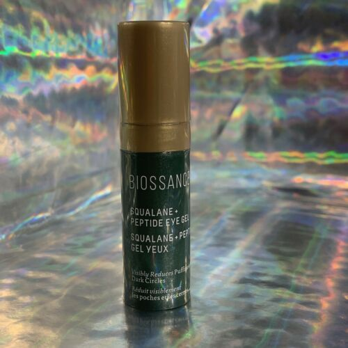 BIOSSANCE Squalane + Peptide Eye Gel 0.14 oz / 4 mL Travel Mini