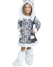 Morris Costumes Girls Complete Outfit Snow Leopard Toddler 3-4T. FW121141TL - $35.63
