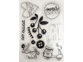 Sweet Love Clear Stamp Set