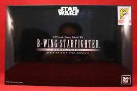 Bandai Star Wars B-Wing Starfighter SDCC 2018 Exclusive Model Kit 1/72 S... - $55.95