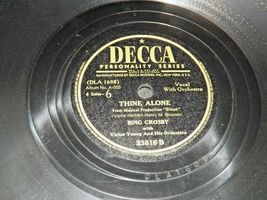 1947 Bing Crosby, Victor Herbert and His Orchestra  AA19-1602 Vintage Decca Reco image 4