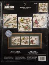 Bucilla Birds and Blossoms Cross Stitch Kit 43210 Jane Chandler Sealed - $24.74