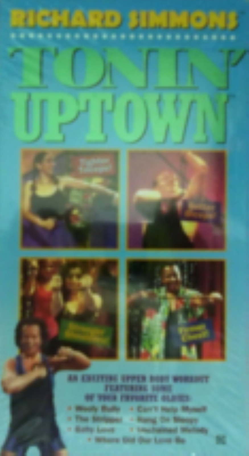 Richard Simmons Tonin' Uptown Vhs