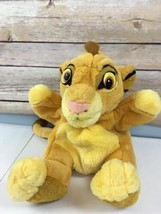 "Vtg 90s Lion King Simba Cub Puppet Applause Hand Plush 9"" Disney Toy - $19.75"