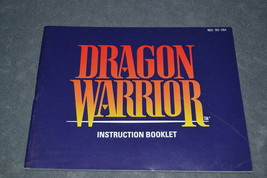 Nintendo NES: Dragon Warrior [Instruction Book Manual ONLY] NICE! - $8.00