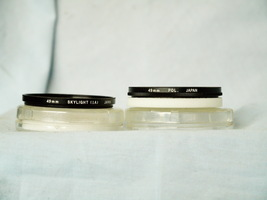 Olympus 49mm  Polarizer, Skylight Cased Filters - Nice Set -Actual Olympus - $15.00