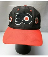 PHILADELPHIA FLYERS NHL VINTAGE CAP HAT w collector pins - $28.00