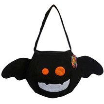 Set of 3 Halloween Kids Candy Bag Trick or Treating Candy Bag(Bat)