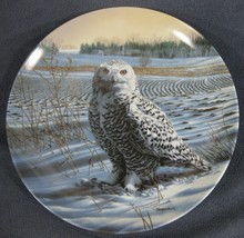 The Snowy Owl Collector Plate The Stately Owls Jim Beaudoin Knowles 84-K... - $17.95