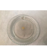 Vtg. Goebel Crystal Glass Happy Birthday Collector Plate Frosted Embosse... - $26.99