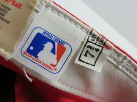 VTG New Era St.Louis Cardinals MLB Baseball Fitted Hat Adult Size 7 3/4 USA Made image 6