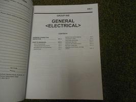 2011 MITSUBISHI Lancer Evolution Electrical Supplement Service Repair Manual NEW image 5