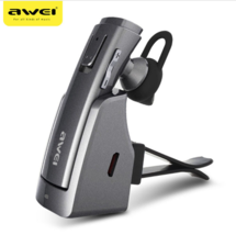 Awei® A833BL Bluetooth Earphone Wireless Car Holder Stereo Headphones Ha... - ₨2,832.40 INR