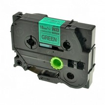 "Brother OEM TZe741 Black on Green Tape (3/4"") - $21.23"