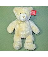 "20"" GUND TENDER TEDDY BEAR ORIGINAL TAG Ivory Plush Stuffed Animal 6416 ... - $34.65"