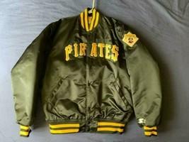 Men's vintage 90's Starter MLB Pittsburgh Pirates satin jacket size XL - $129.99