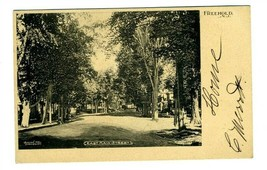 East Main Street Freehold New Jersey Undiv Back Postcard 1905 Bacon the ... - $17.80