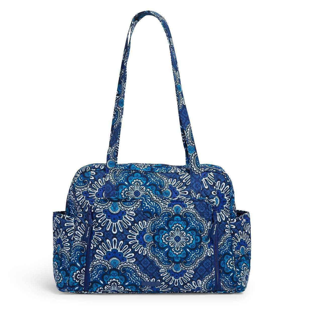 Primary image for Vera Bradley Factory style baby bag in Blue Tapestry