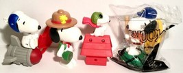 The Peanuts - Snoopy McDonalds Happy Meal Toys - (Lot of 4) Mixed Of 2018 2015 - $4.94