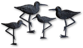 New Sandpiper Coastal Birds, Ornamental Sea Birds, Decorative Home Art, ... - $67.47