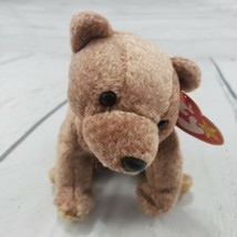 """Beanie Babies Pecan Bear TY 1999 Plush Toy Stuffed Animal 6"""" Used With T... - $19.79"""