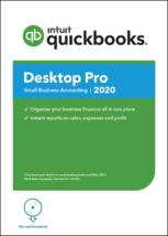 NEW! 2 user QuickBooks Desktop PRO 2020+Free CD. MESSAGE FOR BEST PRICE - $349.95