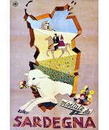 "11x14""Poster on Canvas.Home Room Interior design.Travel Italy.Sardegna.6507 - $28.05"