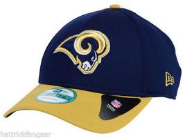 St. Louis Rams New Era 9Forty Fundamental Tech NFL Team Logo Cap Hat - $20.85