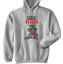 BOXER - IM A PROUD DAD - NEW COTTON GREY HOODIE - $38.98