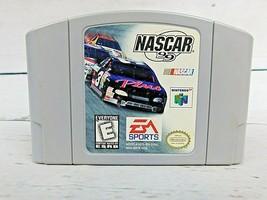 NASCAR 1999 Nintendo 64 N64 Authentic OEM Video Game Cart Racing Original Retro - $6.18