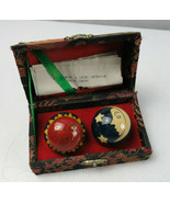 Vintage Chinese Health Balls Sun & Moon Stress Therapy Musical Hand Exer... - $15.00