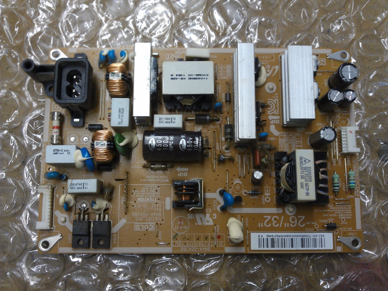 BN44-00438A Power Supply Board From Samsung LN32D450G1DXZA LCD TV