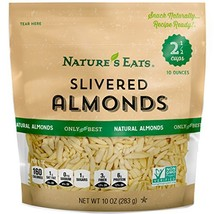 Nature's Eats Blanched Slivered Almonds, 10 Ounce - $11.42