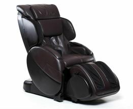 Human Touch Espresso Brown Bali Massage Chair Recliner w Arm Calf + Foot Massage image 1