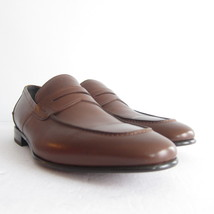 P-300297 New Salvatore Ferragamo Brown Leather Loafer Shoes Size US 7 Ma... - $557.68 CAD