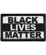 BLACK LIVES MATTER BLM Embroidered Sew or Iron-On Patch Civil Rights Unity Stren - $5.65