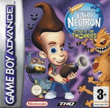 Jimmy Neutron: Boy Genius (Nintendo Game Boy Advance, 2001) - $4.64