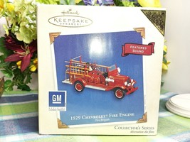 Hallmark Fire Brigade ornament 2003 1929 Chevrolet Fire Engine Colorway - $24.75