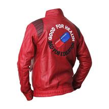 Akira Kaneda Red Leather Jacket - BNWT - $69.29+