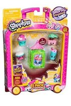 Shopkins S8 W2 Asia Toy 5 Pack - $7.99