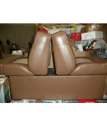 Back To Back  Deluxe Lounge  Boat Seats - Brown & L. Taupe w/ Base (Single) - $165.00