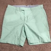 Men's Polo Ralph Lauren Shorts Sz 40 Green Flat Front AA99 - $11.64