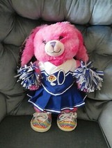 """Build A Bear BABW CHEERLEADER 16"""" Bunny + 2 pc Outfit, 2 Pom Poms, Shoes(T) - $25.99"""